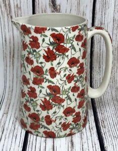 BN Ceramic Shabby Chic Vintage Modern Small Poppy Chintz Teabag Rest Tidy