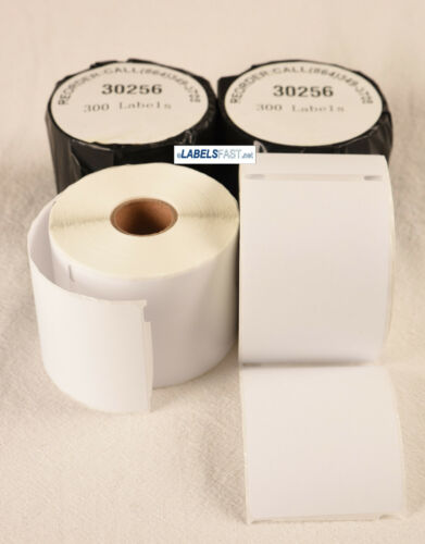 50 Rolls Compatible Dymo XL 30256 Shipping Mailing Labels