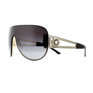 f0c2097e0a424 Image is loading Versace-Sunglasses-VE2166-12528G-Pale-Gold-Grey-Gradient