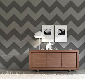 Image Is Loading Zig Zag Wallpaper Pattern Wall Decal Chevron Sticker