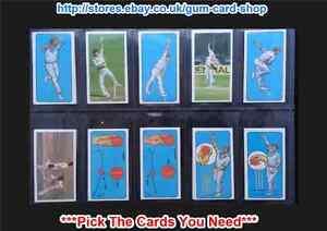 BASSETT-BARRATT-PLAY-CRICKET-1980-G-PICK-THE-CARDS-YOU-NEED