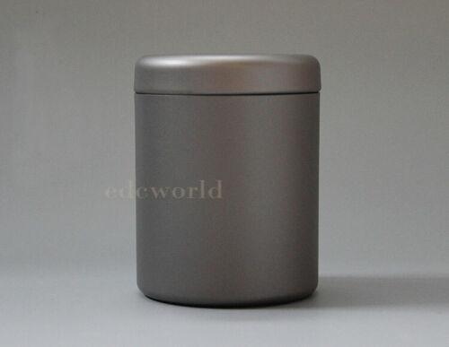 Pure Titanium Mini Portable Outdoor Camping Ingredients  Container Storage Case