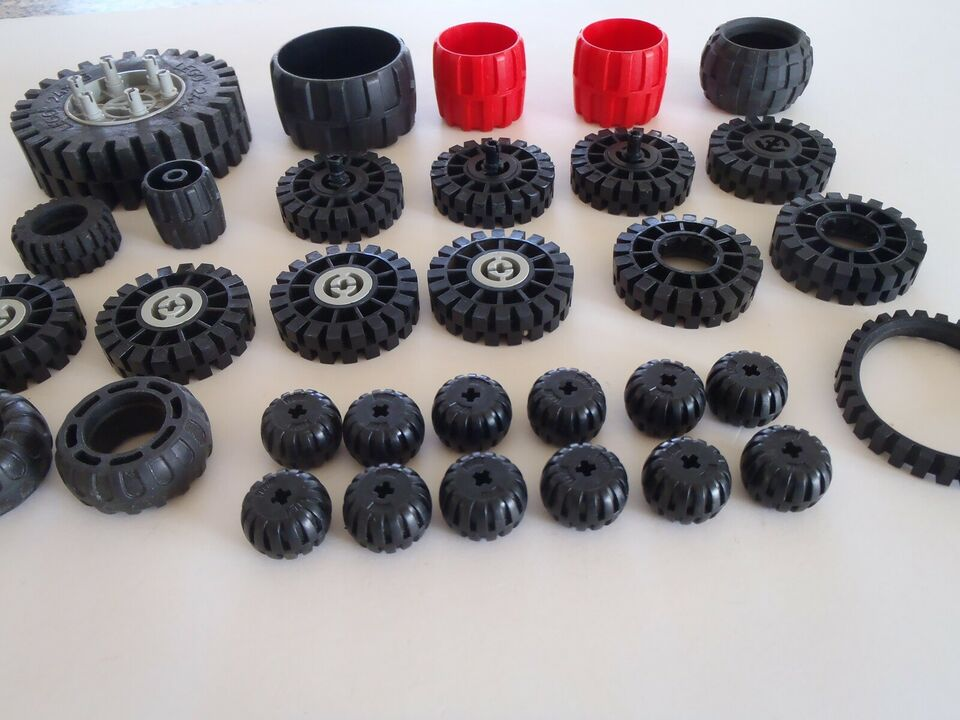 Lego andet, Div. Lego hjul og dæk.