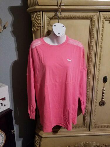 victoria secret pink Mesh Shirt - image 1