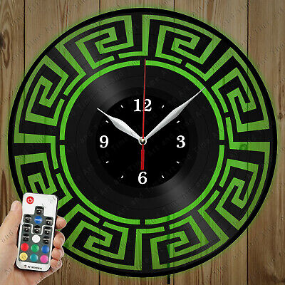 Details about  /LED Vinyl Clock Abstract LED Wall Art Decor Clock Original Gift 6891