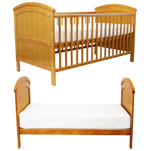 Pine Cot Bed Junior Bed Nursery Cotbed