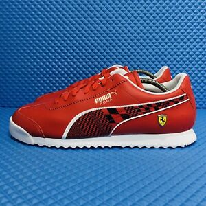 Puma-Ferrari-Roma-Men-s-Size-12-Athletic-Casual-Sneakers-Red-Shoes