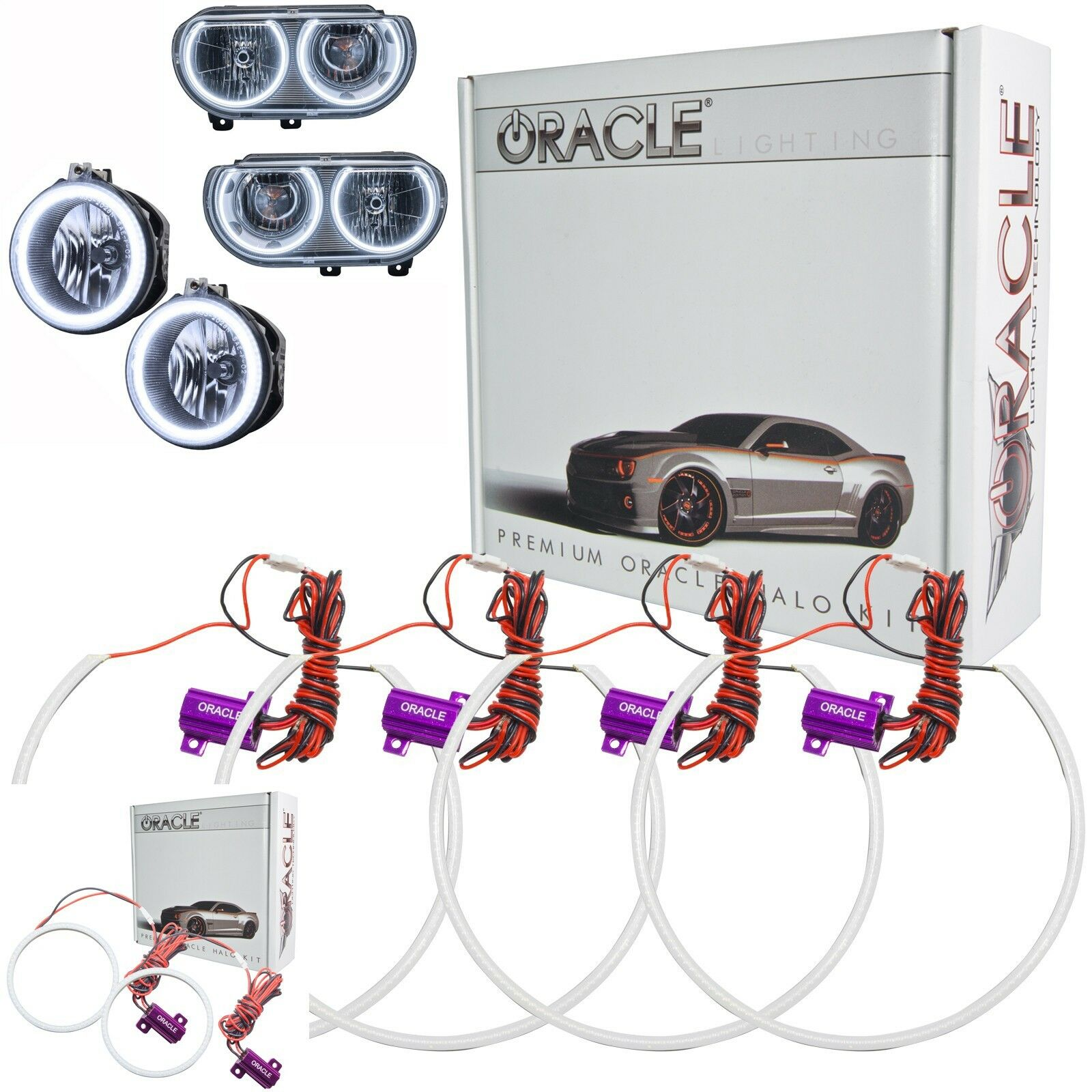 Acura Dealer In Brooklyn: ORACLE Halo Kit For NON-Project Headlights&Fog Lights For