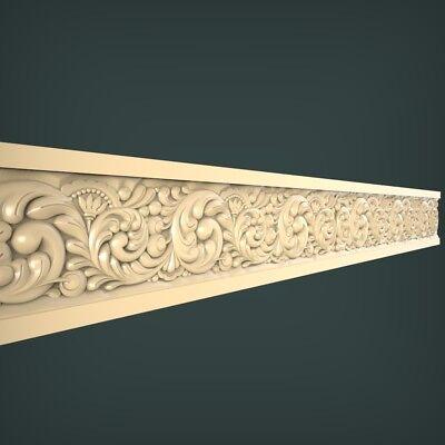 STL Model  for CNC Router 3D Printer  Artcam Aspire Bas Relief 345