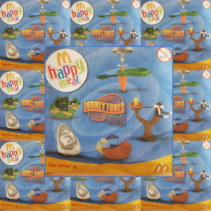 McDonalds-Happy-Meal-Toy-UK-2009-Looney-Tunes-Plastic-Character-Toys-Various