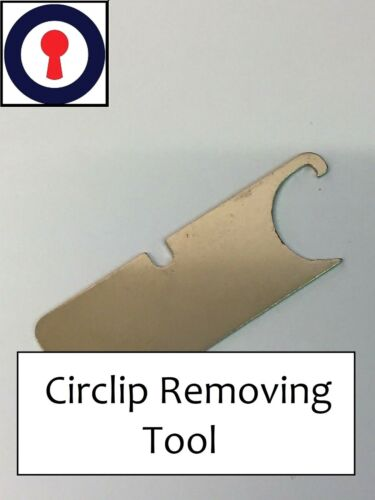 Euro cylinder tool Circlip remover for Euro Oval and Rim Cylinders 1st P/&P