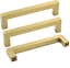 Gold Drawer Handles Kitchen Cupboard Handles 160mm 6.25in 6 Pack LHJ12GD 6