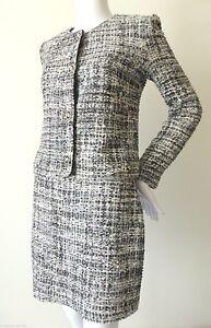 WAYNE-COOPER-Women-039-s-Suit-rrp-698-Silk-Skirt-Jacket-AU-8-US-4-Made-in-Australia