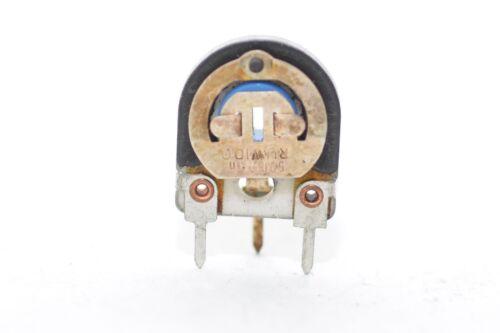 NOS 5x Vintage Trimmer // Potentiometer von DAU 7.5 Ohm lin. stehend