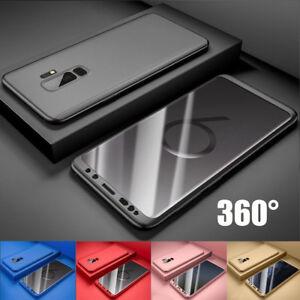 Para-Samsung-Galaxy-S9-A8-S8-Plus-360-Proteccion-Completo-Funda-carcasa-Hibrido
