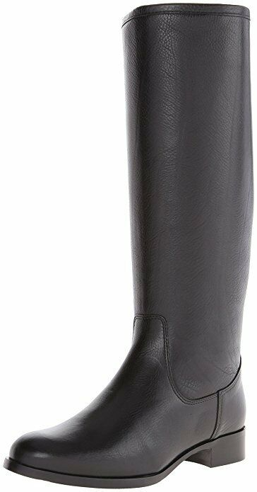 La Canadienne Sarit Black Textured Leather Knee High Boots 5697 Size 6 M