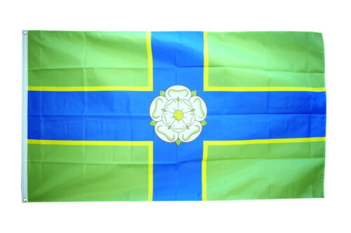 North Riding of Yorkshire Flag 5 x3FT 100/% Polyester With Eyelets English County