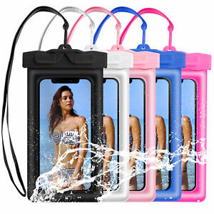 5 Pack Waterproof Phone Pouch Floating Dry Bag Case Cover For Phone Samsung Swim
