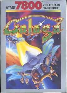 Galaga-Atari-7800-New-in-the-Box-NIB-NOS-box-dented-NTSC