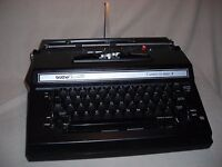 BROTHER CORRECT-O-RITER II - VINTAGE CASSETTE TYPEWRITER - MADE IN JAPAN