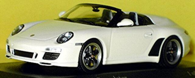 Porsche 911 Speedster Type: 997 II 2010-11 Carrera White White 1:43 Minichamps