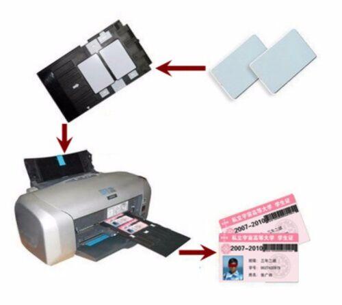100X ID CARD 1 Tray Plastic Printing E pson R260 R265 R270 R280 R285 R290 R380