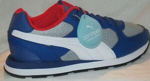 Puma Vista Lux Sneakers Casual Mens Blue