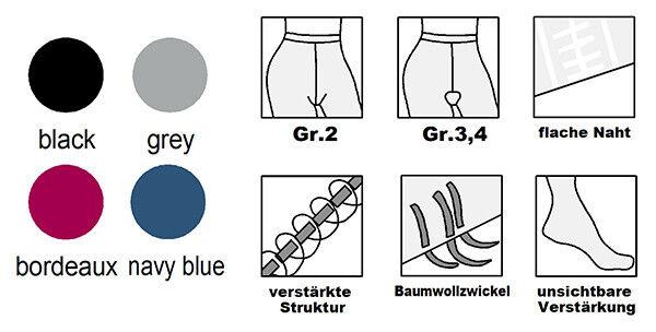 Strumpfhose Glanz Glitzer Muster 20DEN Gr.S,M,L alle Farben