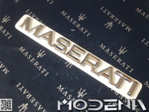 Maserati Schriftzug Kofferraum Trunk Emblem Sign Biturbo 430 222 224v 418 Spider