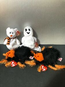 Beanie Baby Halloween Bundle with Sheets, Quivers, and Two Skitters