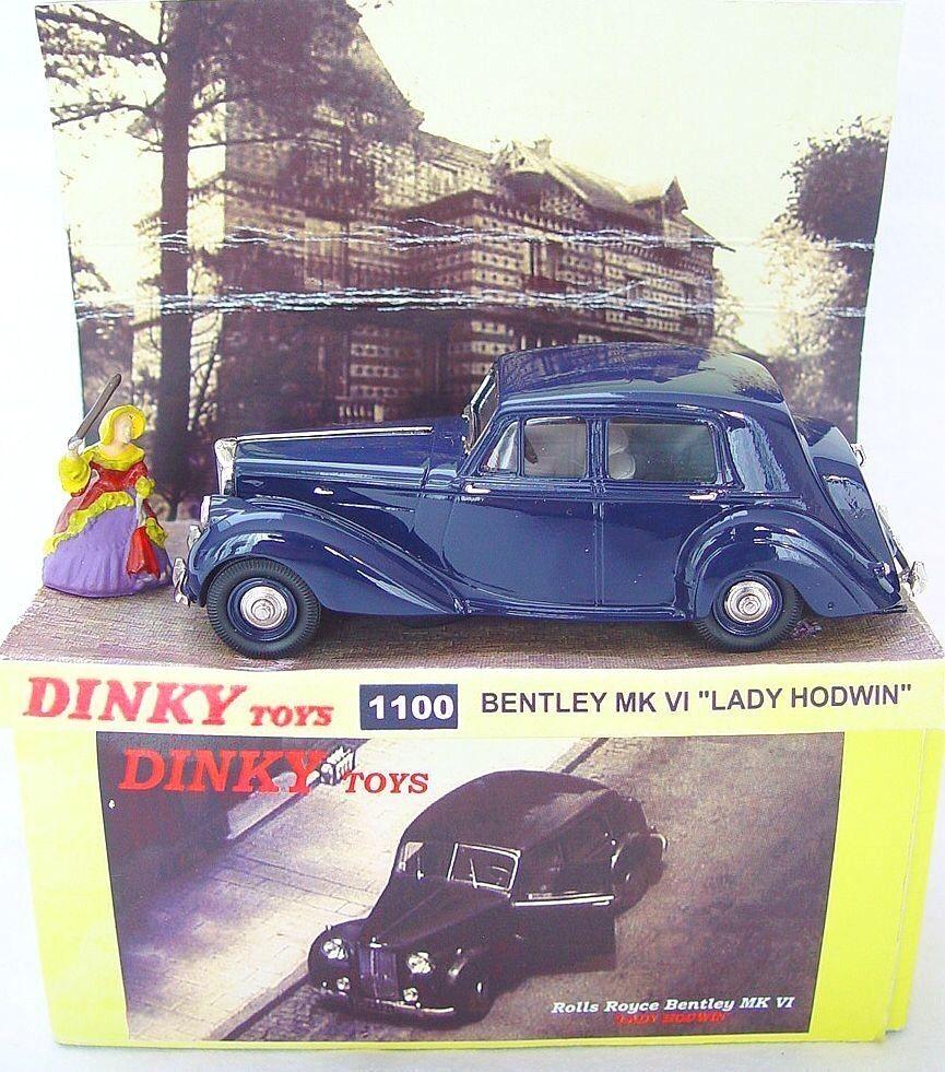 Culfi CTS Dinky Toys Lansdowne BENTLEY BELPHEGOR FANTOME DU LOUVRE Movie Car MIB