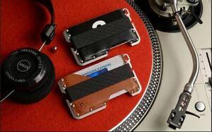 Dango-Dapper-EDC-Wallet-Made-in-USA-Genuine-Leather-CNC-Alum-Black-Brown