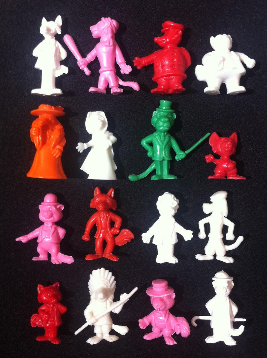 16 ✱ Hiper Rare Complete Set ✱ WlLLIE FOG ✱ Dunkin Figures Kaugummi figuren 84