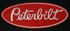 VINTAGE PETERBILT TRUCKING SEW ON PATCH NEW OLD STOCK FREE SHIPPING ONLY 2 LEFT!