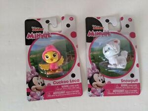 Disney Junior Minnie Figures - Cuckoo Loca & Snowpuff - Lot of 2 - NEW!