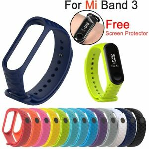 recambio-Pulsera-de-silicona-Correa-de-muneca-Mi-banda-3-For-Xiaomi-Mi-Band-3