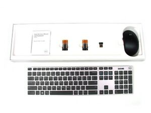 DELL-KM717-Premier-Wireless-Cordless-Keyboard-amp-WM527-Mouse-Set-Kit-US-Layout
