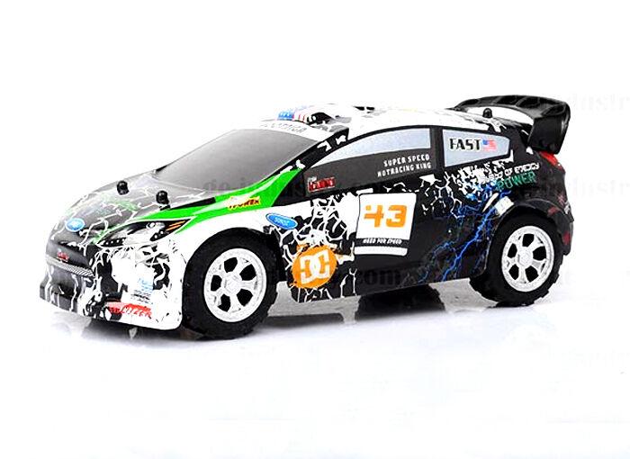 Auto controllo radio Rallye Scorpione. Scala 1/24. 2,4ghz. 5 velocità. 25 km/h