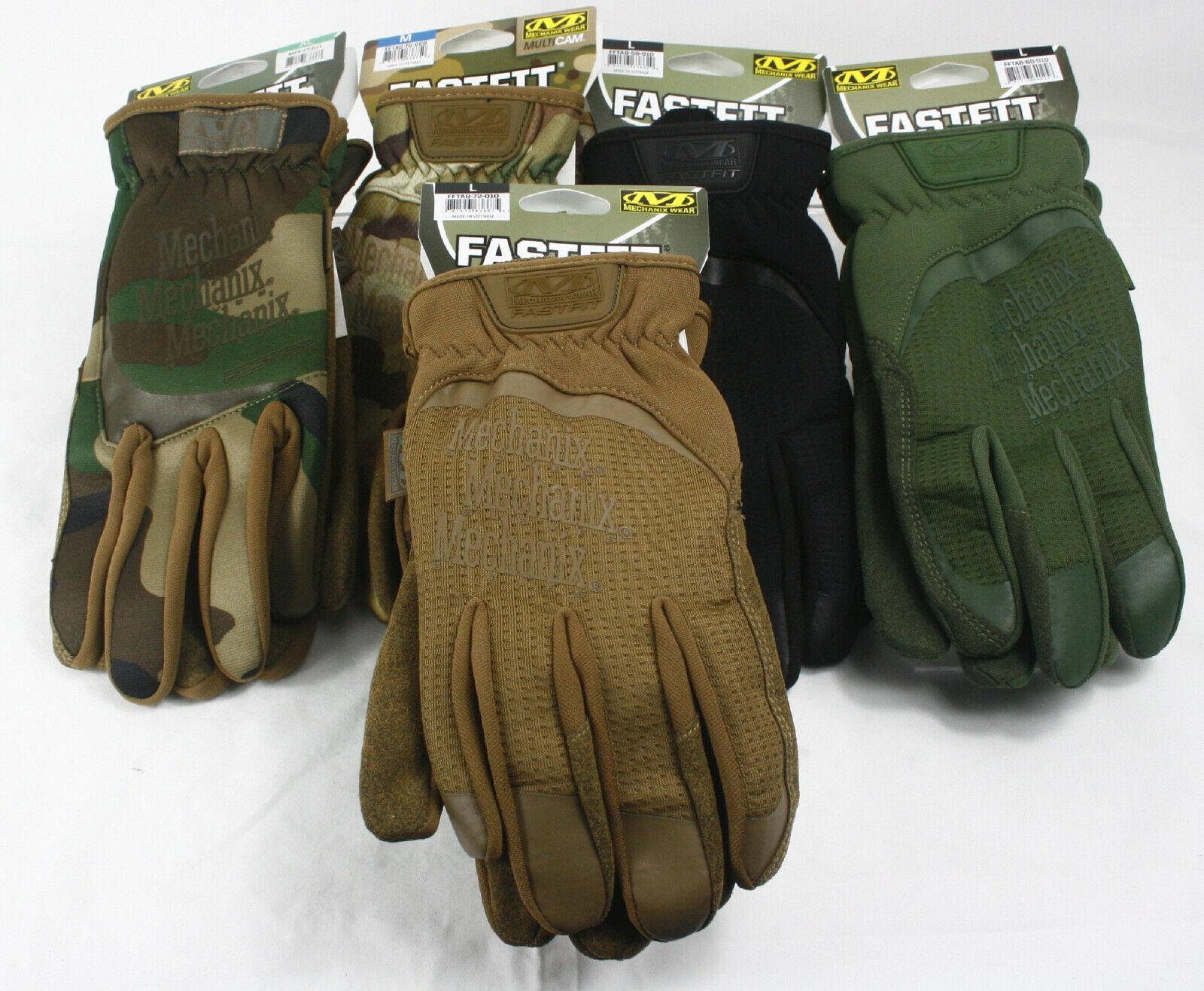 Airsoft tactical mechanix wear ® fastfit gloves ® Gen 2 multicam ® coyote