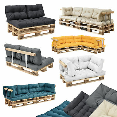 [en.casa]® Palettenkissen In/Outdoor Paletten Kissen Sofa Polster Sitzauflage