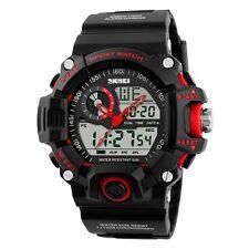 Luxury Men's Analog Digital Date LED Waterproof Military Army SHOCK Sport Watch