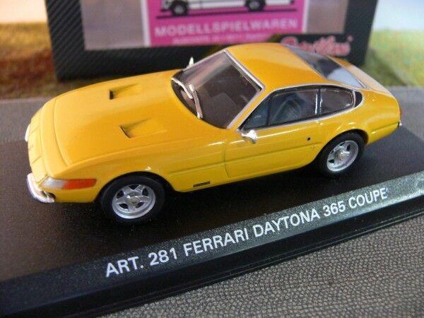 1 43 DetailCars 281 Ferrari Daytona 365 1970 COUPE jaune