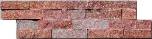 Natursteinverblender 40x10cm Schiefer Quarzit Wandverblender Kamin Mauerverblend