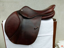"SALE!!!! 2008 CWD Luxury French Jumping Saddle Gorgeous Brown 17"" Standard Tree"