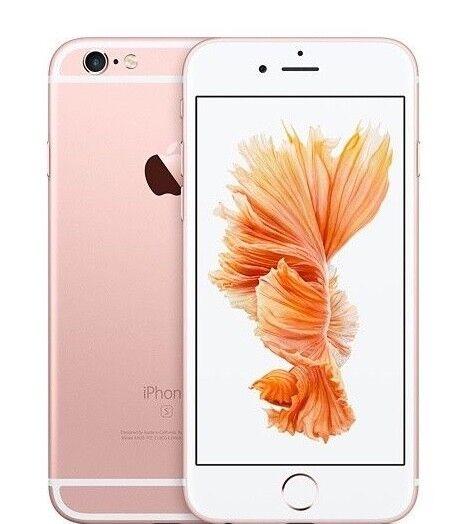 APPLE IPHONE 6S 128GB ROSE GOLD GRADO A/B + ACCESSORI- SMARTPHONE RICONDIZIONATO