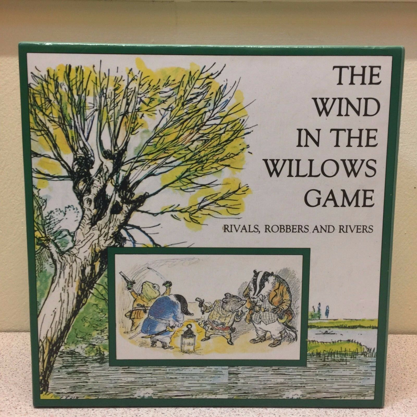 The Wind In The Willows Game Rivals, Robbers and Rivers - Board Game