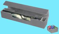 Ultimate Guard Flip N Tray Mat Case Xenoskin Grey Game Playmat Storage Box Mtg