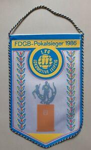 Orig-DDR-Wimpel-1-FC-Lok-Leipzig-FDGB-Pokalsieger-1986-DDR-Oberliga-Fussball