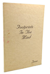 Javan FOOTPRINTS IN THE MIND  1st Edition 1st Printing