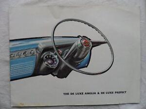 1958 FORD ANGLIA DE LUXE & de luxe préfet sales brochure-afficher le titre d`origine DSeEGxoK-07135902-733256640